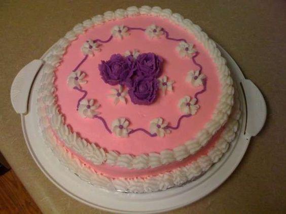 Decoración de tartas: Fotos de ideas de repostería - Decoración de tarta en color rosa