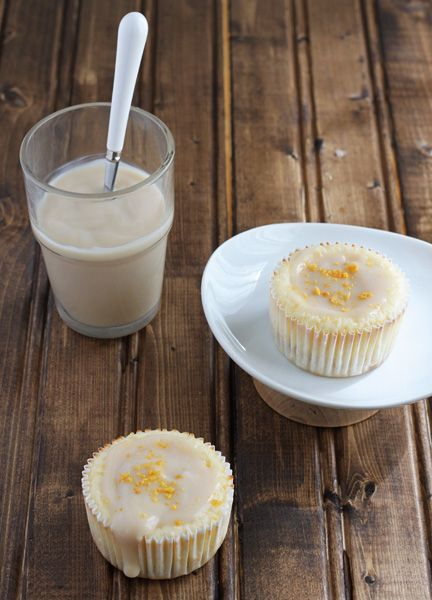 Mini New York Cheesecakes. Recipe makes just 4 cakes!
