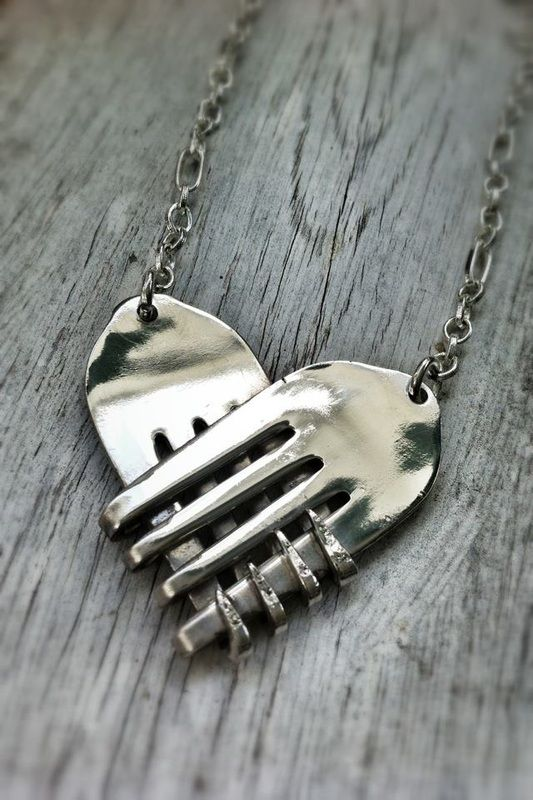 RepurposedMe Items - Necklaces - Forkin'Art... The world's junk is a creative man's treasure.