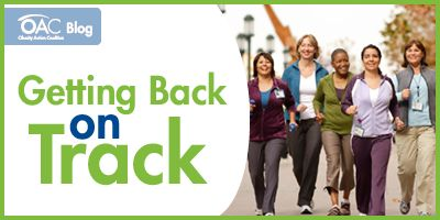 As the weather begins to get warmer, you can set goals to get back into a regular fitness routine! Take a look at the latest post on the OAC Blog for tips – and feel free to leave any of your own suggestions or ask questions in the comments section of the post! http://www.obesityaction.org/getting-back-on-track
