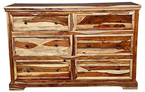 New Hawthorne Collections Sante Fe Solid Sheesham Wood Fully