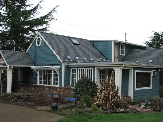 Best Estate Gray Shingles Blue House Exterior Pinterest 640 x 480