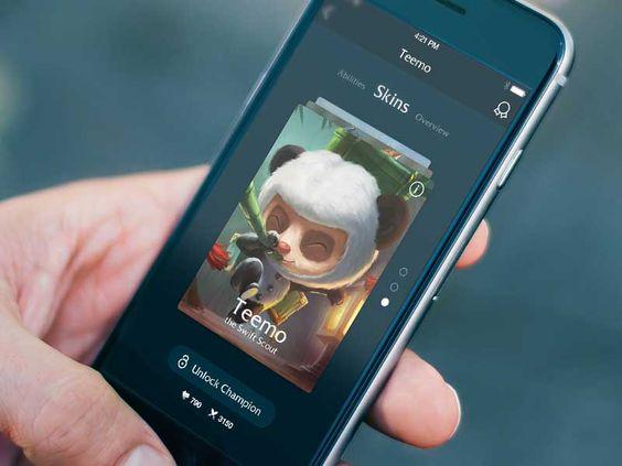 Freebie: League of Legends App Concept Elements UI kit - http://www.vectorarea.com/freebie-league-of-legends-app-concept-elements-ui-kit