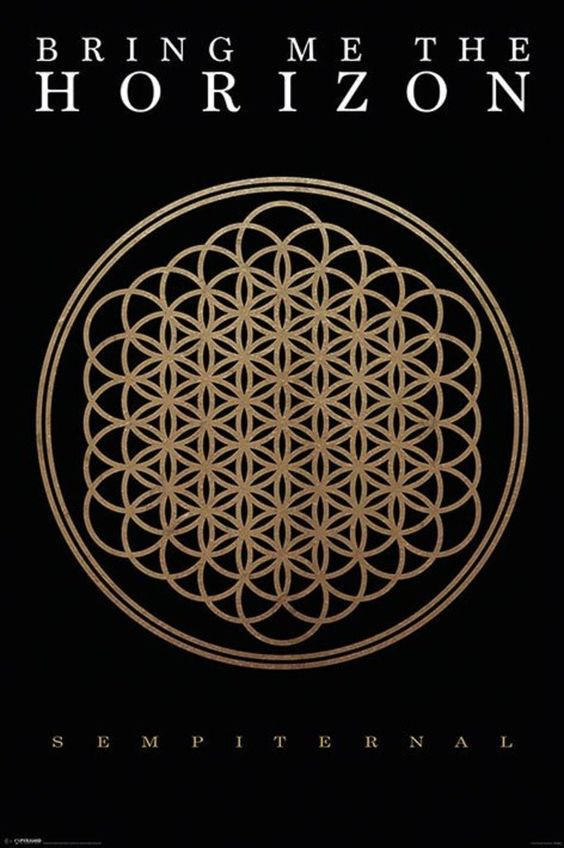 Bring Me the Horizon - Sempiternal - Official Poster: