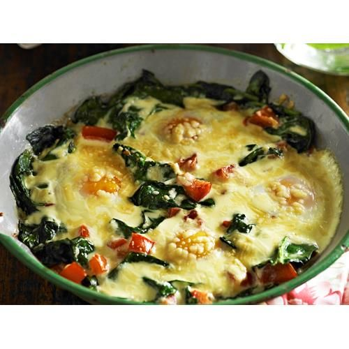 Baked eggs florentine recipe | FOOD TO LOVE