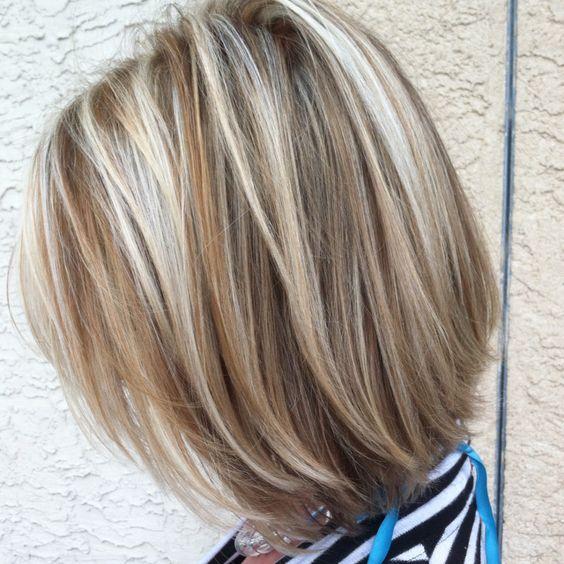 Summer short and blonde
