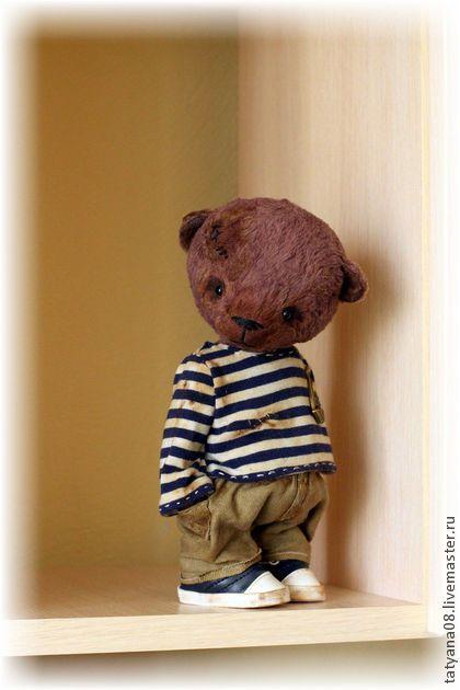 Мишка) - коричневый,мишка,мишки тедди,мишка ручной работы,мишка в подарок