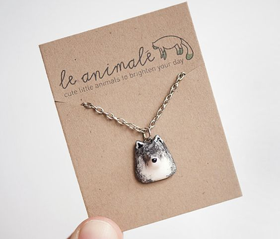 Le Petite Necklace - oh, and a wolf one,too  I thought of you Valli ;)