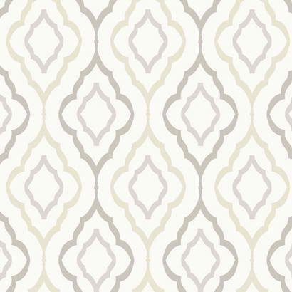 Interior Place - Off White ND7083 Diva Wallpaper, $52.99 (http://www.interiorplace.com/off-white-nd7083-diva-wallpaper/)