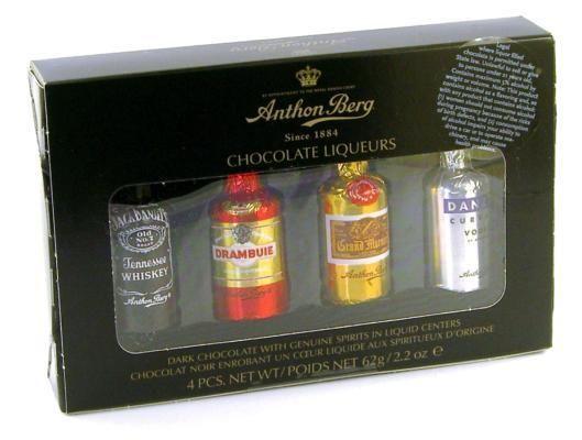 Anthon Berg Chocolate Liqueurs 62g Chocolate Liqueur