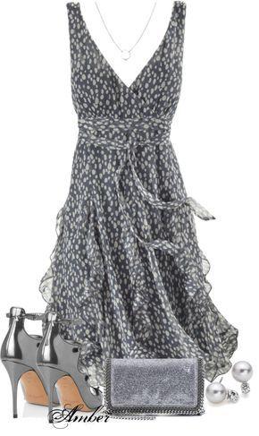 Uma leveza de vestido.