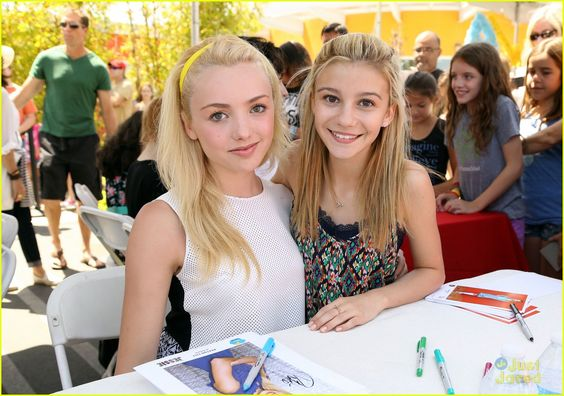 G Hannelius Hosts 'Art In The Afternoon' with Peyton List