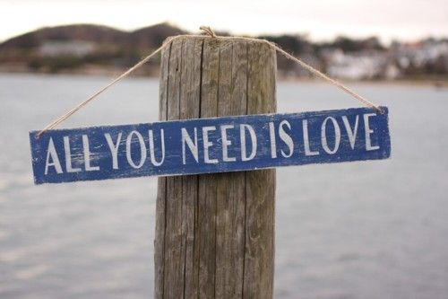 Love is all you need ♥