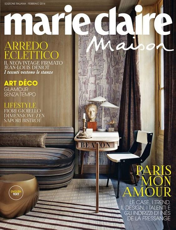 Design magazines and interiors on pinterest - Magazine decoration maison ...