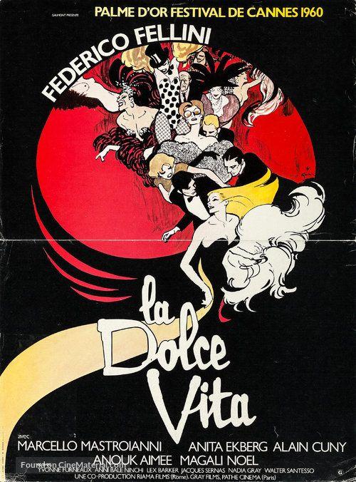 La Dolce Vita La Dolce Vita Movie Posters Vintage Movie Posters