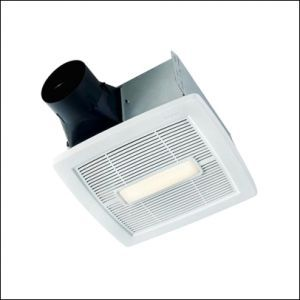 Broan Bathroom Exhaust Fan With Led Light Bathroom Exhaust Fan Ceiling Installation Fan