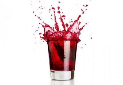 Happy hour: cranberrysap