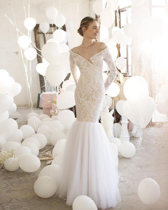 wedding dress from Noya Bridal 2016 | I take you - UK wedding blog #weddingdress #bridaldress #weddingdresses: