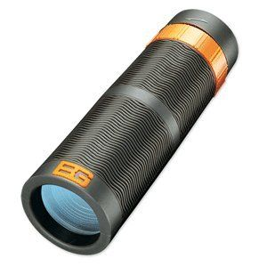 Bear Grylls 9x32mm Monocular Black Roof, WP, FC | Good Camera Brands