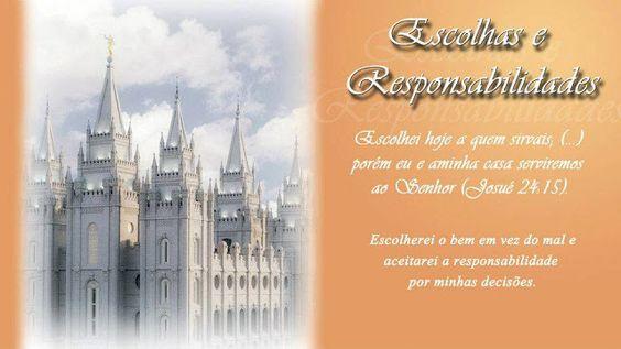 Organização das Moças - Cartazes dos Valores das Moças (templo)