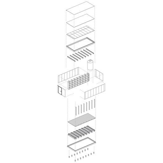 Casas: Estructura de madera,