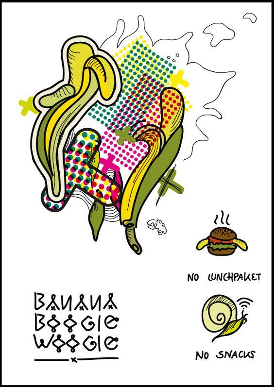 banana boogie woogie by Carmen Eisath