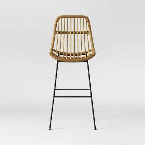 Where To Find The Best Bar Stools The Domino Guide Wicker Bar Stools Bar Stools Cool Bar Stools
