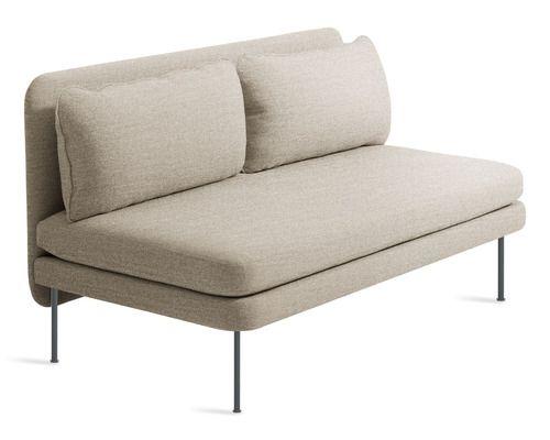 Bloke 60 Inch Armless Sofa Sofa Sofa Upholstery Sofa Home