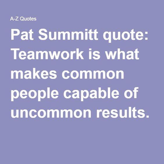 Pat Summitt Quotes: Pinterest • The World's Catalog Of Ideas