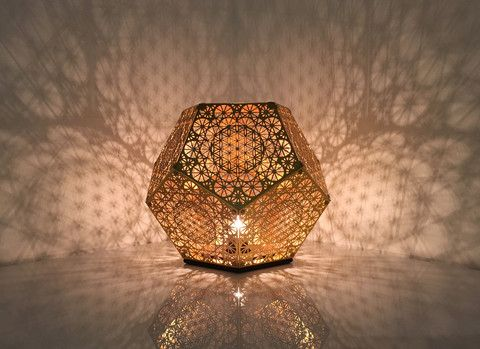 Pre-Order - HYBYCOZO Dodecahedron Table Light