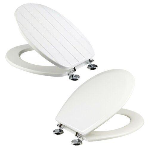 Dearman Soft Close Elongated Standard Toilet Seat Belfry Bathroom