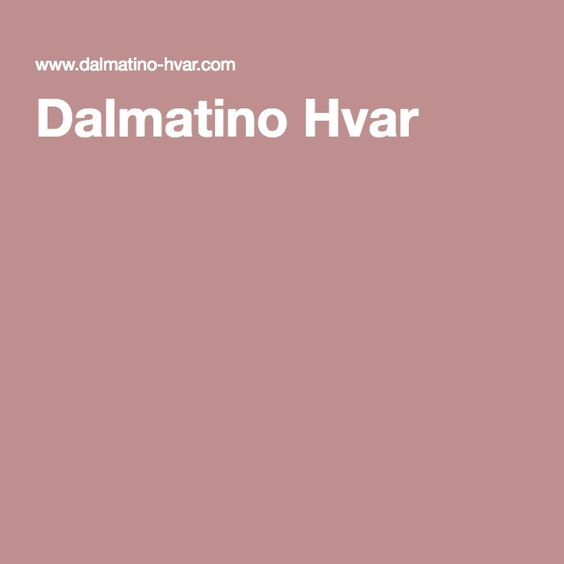 Dalmatino Hvar