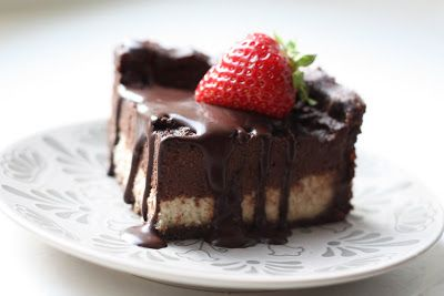 Les petits plats de Rose: Cheesecake vanille et chocolat [cru & vegan]