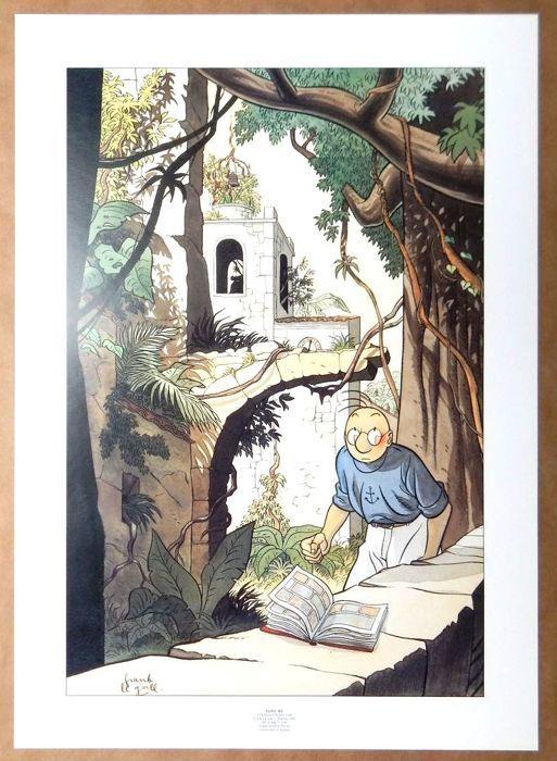 Le Gall Frank Ex Libris Theodore Poussin W B Ex Libris Noel Zeefdruk