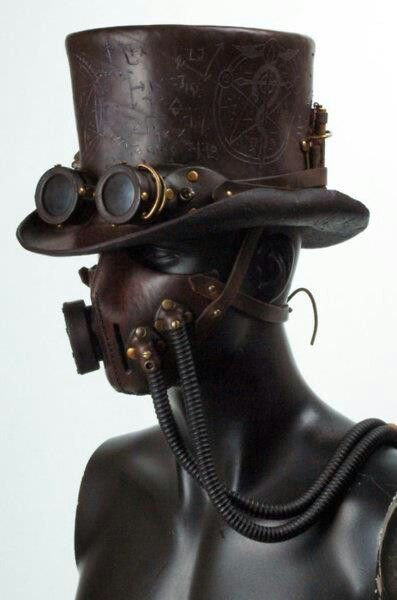 Steampunk Hat Awesome!