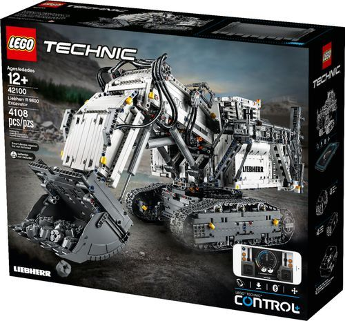 Lego Technic Liebherr Bagger