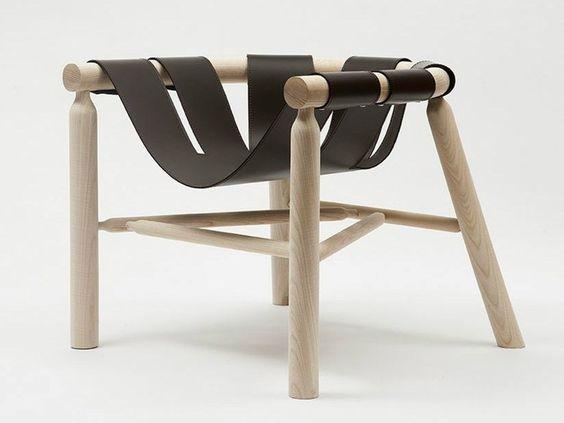 NINNA Armchair by Adentro design Carlo Contin