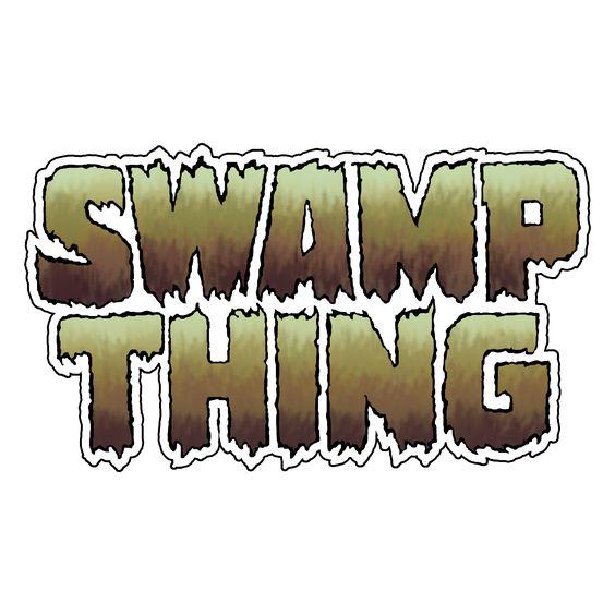 """Swamp Thing"" logo recreated with PhotoShop!  #swampthing #swampthingvolume1 #comics #comictitle #logo #dccomics #warnerbros #photoshopart"