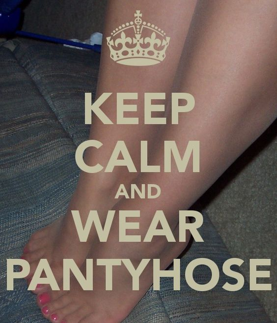 Wear Pantyhose And 10