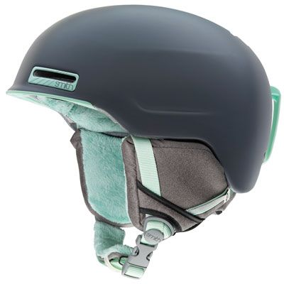 SMITH Women's Allure Ski Helmet, Charcoal Leila - Eastern Mountain Sports