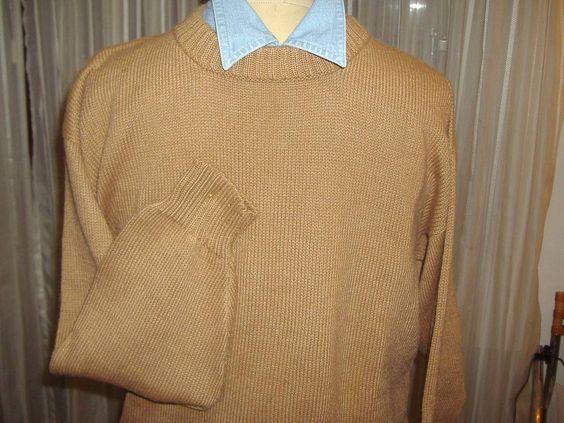 Sweater 100% Alpaca Importado Natural Alpaca