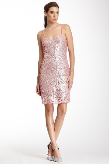Liquid Light Sequin Sleeveless Dress by Yoana Baraschi on @HauteLook