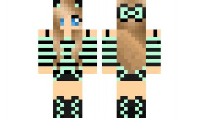 minecraft skin Cool-Girl Find it with our new Android Minecraft Skins App: https://play.google.com/store/apps/details?id=the.gecko.girlskins