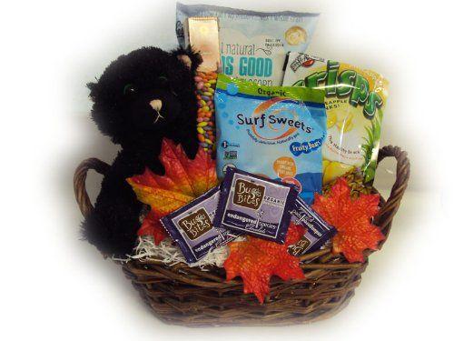 Healthy halloween gift baskets