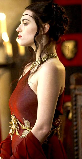 The Lady Morgana. I'm going to be honest: I think that season 1 Morgana would have been one of the amazing queens ever. She was kind, compassionate, stood up against tyranny, elegant and feminine. Queen Morgana Pendragon. Long live the Queen.