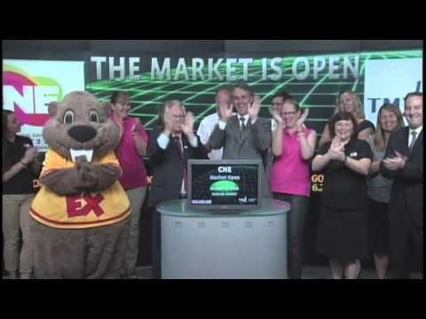 CNE Opens the Toronto Stock Exchange | August 14, 2012