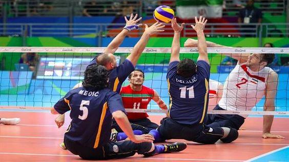 Iran-sitting volleyball-team