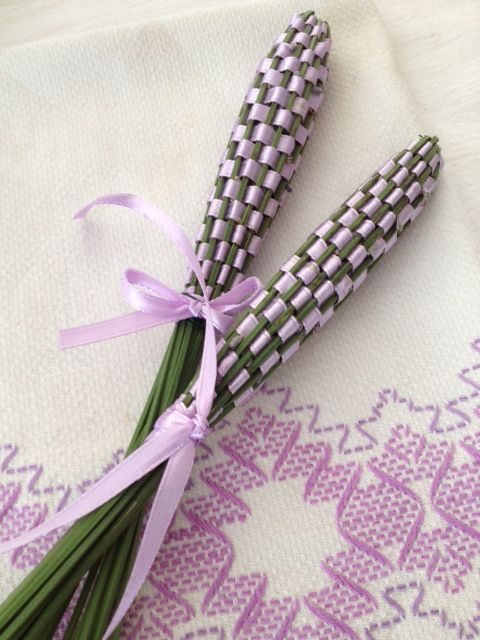 Lavender Wands: