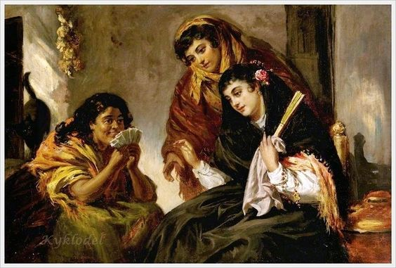 John Phillip (Scottish, 1817–1867) «The Fortune Teller»
