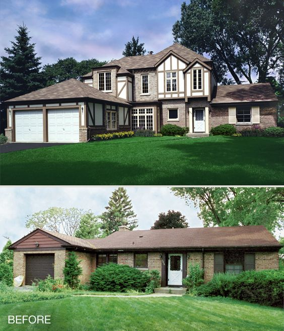 Two Story Addition Ideas: Ranch Style Home Addition Ideas